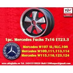 1 pc. Jante Mercedes Fuchs 7x16 ET23.3 5x112 RSR Style
