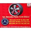 1 pz. Llanta Mercedes Fuchs 7x16 ET23.3 5x112 RSR Style