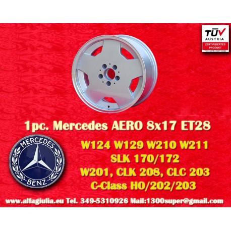 4 Stk. Felgen Mercedes AMG Aero style 8x17 ET28 5x112