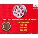 1 pc. Fiat 5x12 ET31 4x98 wheel