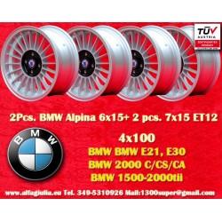 Felgen BMW Alpina 6x15/7x15 ET12 4x100