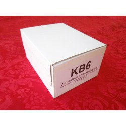 Satz Radbolzen KB56  für Fiat 500/126 Autobianchi Bianchina Flathead