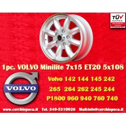 1 pc. Volvo Minilite 7x15 ET20 5x108 wheel