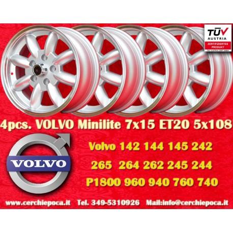 Jante Volvo Minilite 7x15 ET20 5x108
