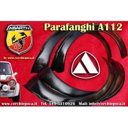 Parafanghini vetture Autobianchi Abarth A112 58 70HP