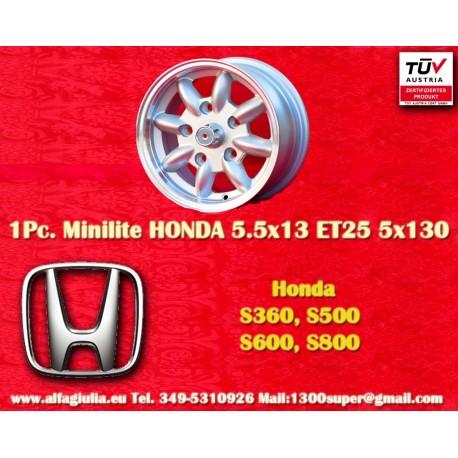 HONDA Minilite 5.5x13 ET25 5x130
