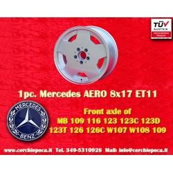 1 pcs. Mercedes AMG Aero style 8x17 ET11 5x112 wheel