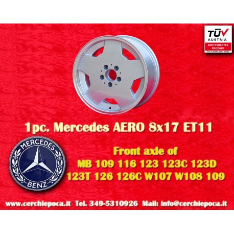 1 pc. cerchio Mercedes AMG Aero style 8x17 ET11 5x112