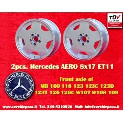 2 pcs.  Mercedes AMG Aero style 8x17 ET11 5x112 wheels
