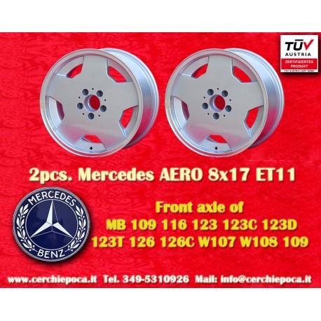 2 Stk. Felge Mercedes AMG Aero style 8x17 ET11 5x112