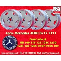 2  pcs. Mercedes AMG Aero style 8x17 ET11 5x112 wheel