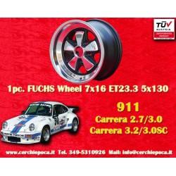 1 pz. llanta Porsche 911 Fuchs 7x16 ET23.3 5x130 RSR Style