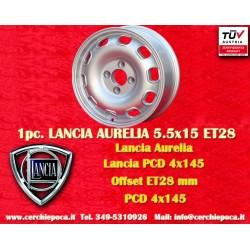 Lancia Aurelia 5.5x15 ET28 4x145 wheel