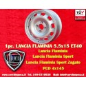 1 pc. Lancia Flaminia Tecnomagnesio Style 5.5Jx15 ET40 4x145 wheel