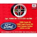 1 Stk. Felge Ford RS 7x13 ET5 4x108