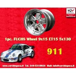 Porsche 911 Fuchs 9x15 ET15 5x130 full polished