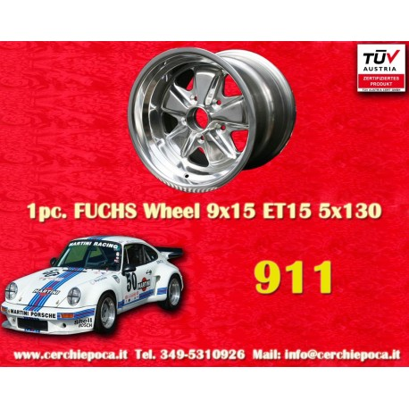 Porsche 911 Fuchs 9x15 ET15 5x130 full polished