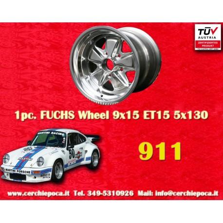 Porsche 911 Fuchs 9x15 ET15 5x130 poliert
