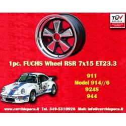 Porsche Fuchs 8x15 5x130 ET10.6 RSR Style wheel