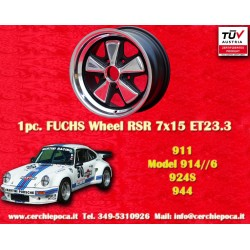 1 pz. llanta Porsche Fuchs 7x15 5x130 ET23.3 RSR Style