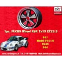 1 Stk. Felge Porsche Fuchs 7x15 5x130 ET23.3 RSR Style
