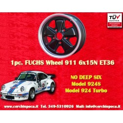 Porsche 911 Fuchs 6x15 ET36 5x130
