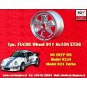 1 Stk. Felge Porsche 911 Fuchs RS 6x15 ET36 5x130