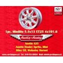 1 pz. llanta Austin Healey 5.5x13 ET25 4x101.6