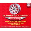 1 pz. llanta Austin Healey 5.5x13 ET25 4x114.3