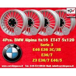 4 pcs. cerchi BMW Alpina 8x18 ET47 5x120