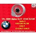 1 pc. cerchio BMW Alpina 8x17 ET46 5x120