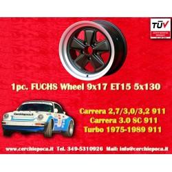 1 pc. cerchio Porsche 911 Fuchs 9x17 ET15 5x130