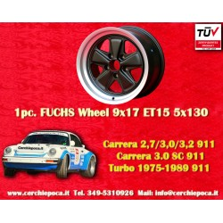 1 pc. Jante Porsche 911 Fuchs 9x17 ET15 5x130