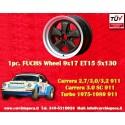 1 Stk. Felge Porsche 911 Fuchs 9x17 ET15 5x130