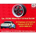 1 pc. cerchio Porsche 911 Fuchs 8x17 ET10.6 5x130