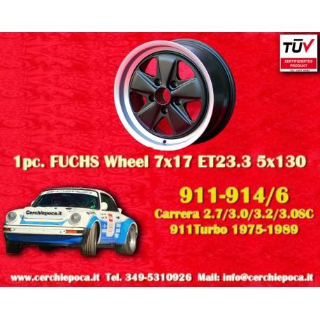 Porsche 911 Fuchs 7x17 ET23.3 5x130