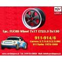 1 pc. Porsche 911 Fuchs 7x17 ET23.3 5x130 wheel