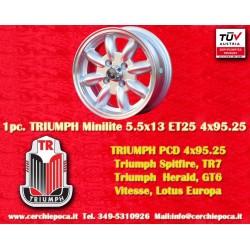Triumph TR7/GT6/Herald 5.5x13 ET25 4x95.25