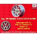 1 pc. Volkswagen 5.5x13 ET18 4x100 Wheel