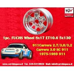 1 pz. llanta orsche 911 Fuchs 8x17 ET10.6 5x130 polished