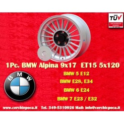 BMW  Alpina 9x17 ET15 5x120 wheel