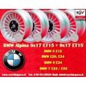 4  pcs. BMW Alpina 8x17 ET15 / 9x17 ET15 5x120 wheels