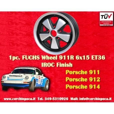 1 pc. cerchio Porsche 911 Fuchs 6x15 Deep Six ET36 5x130