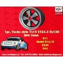 1 Stk. Felge Porsche 911 Fuchs 7x15 ET23.3 5x130 IROC Look