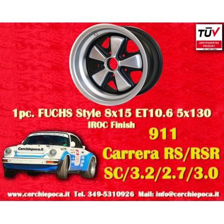 Porsche 911 Fuchs 8x15 ET10.6 5x130 IROC Look