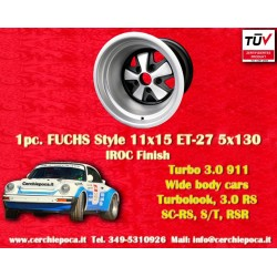 1 Stk. Felge Porsche 911 Felge 11x15 ET-27 5x130 IROC Look