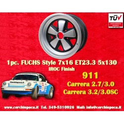 1 pc. Porsche 911 Fuchs 7x16 ET23.3 5x130 wheel IROC Look