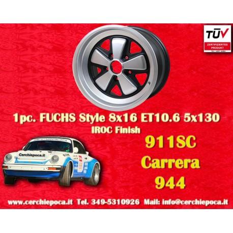 1 pc. cerchio Porsche 911 Fuchs 8x16 ET10.6 5x130
