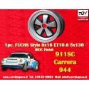 1 pz. llanta orsche 911 Fuchs 8x16 ET10.6 5x130 IROC Look