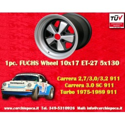 1 pc. Porsche 911 Fuchs 10x17 ET-27 5x130w wheel IROC Look